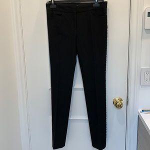 Joseph Black Skinny Dress Pants Size 38/M